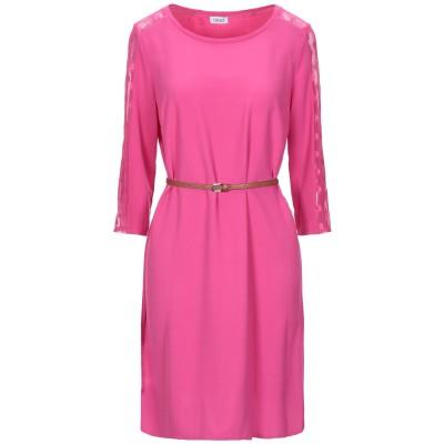リュー ジョー LIU •JO ミニワンピース&ドレス フューシャ 42 ポリエステル 93% / ポリウレタン 7% / ナイロン ミニワンピース