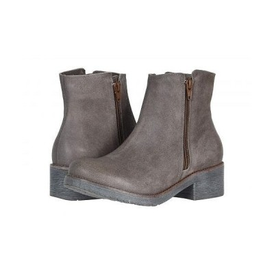 Naot ナオト レディース 女性用 シューズ 靴 ブーツ アンクルブーツ ショート Wander - Brushed Taupe Gray Suede