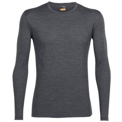 アイスブレーカー メンズ Tシャツ トップス Icebreaker 200 Oasis Long Sleeve Crew