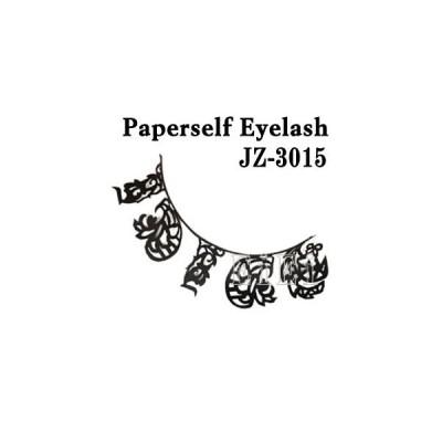アートペーパーラッシュ,つけまつげ,プロ用,紙のつけまつ毛,新感覚のアイラッシュ ペイズリー JZ-3015