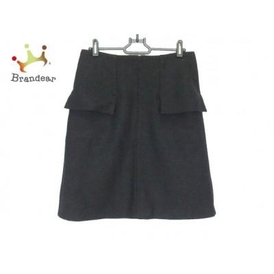 ダーマコレクション DAMAcollection スカート サイズ64 レディース - 黒 ひざ丈   スペシャル特価 20200718