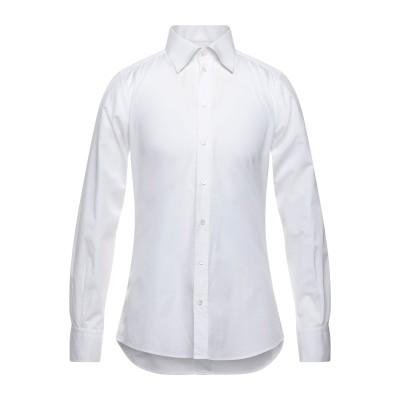 ドルチェ & ガッバーナ DOLCE & GABBANA シャツ ホワイト 41 コットン 100% シャツ