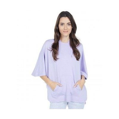 SKECHERS スケッチャーズ レディース 女性用 ファッション パーカー スウェット Restore Poncho - Lavender