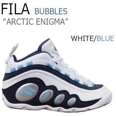 フィラ スニーカー FILA メンズ BUBBLES ARCTIC ENIGMA バブルズ アークティック エニグマ WHITE ホワイト NAVY ネイビー F1XKZ5991 シューズ