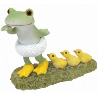 Copeau コポー アヒルごっこ アヒル あひる  小物 オブジェ カエル 置き物 置物 オブジェ 蛙 フロッグ FROG ガーデン雑貨 インテリア雑貨