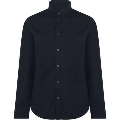 アルマーニ Armani Exchange メンズ シャツ トップス Stretch Poplin Shirt Navy