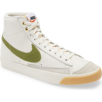 ナイキ NIKE メンズ スニーカー シューズ・靴 Blazer Mid '77 Vintage Sneaker Sail/Asparagus/Light Bone