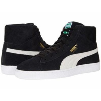 PUMA プーマ メンズ 男性用 シューズ 靴 スニーカー 運動靴 Suede Mid XXI Puma Black/Puma White/Amazon Green【送料無料】