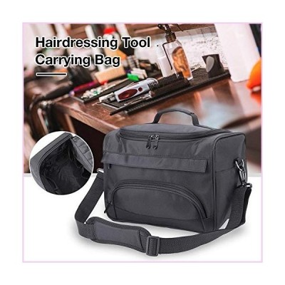 Pleasay Hairdressing Bag Cosmetology Supplies Bag Professional Salon Hair Tools Bag Travel Barber Bag with Strap, Large Capacity Hair Stylist Cosmetic