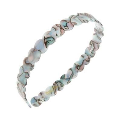 France Luxe Scalloped Headband - South Sea