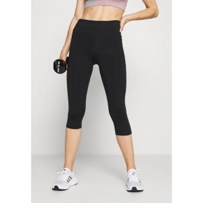 カサル レディース レギンス ボトムス CLASSIC - 3/4 sports trousers - black black