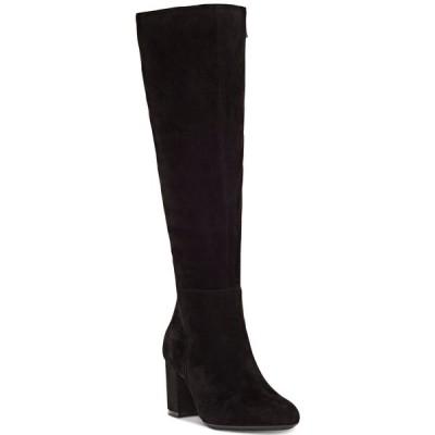 アイエヌシーインターナショナルコンセプト ブーツ&レインブーツ シューズ レディース INC Radella Dress Boots,  Black Suede