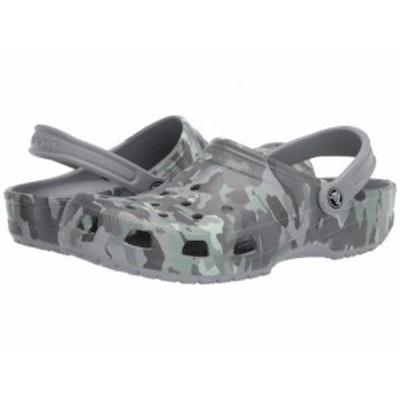 crocs クロックス レディース 女性用 シューズ 靴 クロッグ ミュール Classic Clog Seasonal Graphic Light Grey/Neo Mint【送料無料】