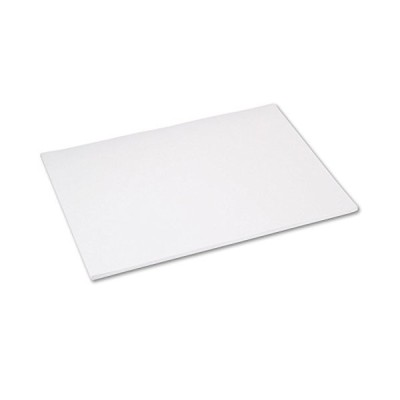 Pacon Tru-Ray Construction Paper, 76 lb, 18 x 24, White, 50 Sheets/PK (1030