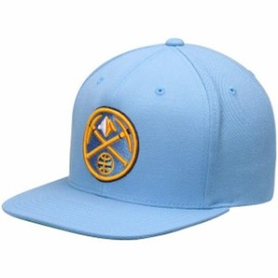 Mitchell & Ness ミッチェル アンド ネス スポーツ用品  Mitchell & Ness Denver Nuggets Light Blue Current Logo Wool