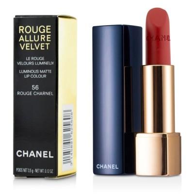 シャネル リップスティック Chanel 口紅 ルージュ アリュール ヴェルヴェット #56 Rouge Charnel 3.5g