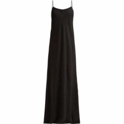 ザ ロウ The Row レディース ワンピース ワンピース・ドレス Ebbins bias-cut crepe dress Black