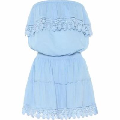 メリッサ オダバッシュ Melissa Odabash レディース ワンピース ミニ丈 ワンピース・ドレス Joy strapless mini dress Cornflower
