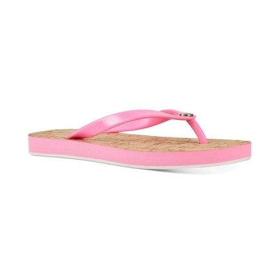 ナインウェスト サンダル シューズ レディース Charize Flip-Flop Sandals Neon Pink