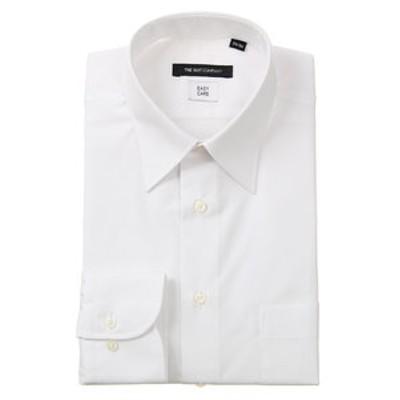 レギュラーカラードレスシャツ シャドーストライプ 〔EC・BASIC〕