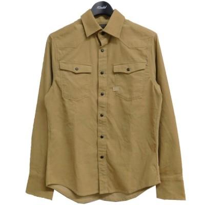 G-STAR RAW コーデュロイシャツ D16044 ブラウン サイズ:XS (京都三条堀川店) 210608