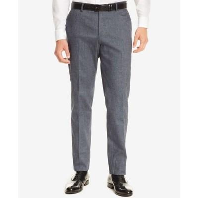 ヒューゴボス カジュアルパンツ ボトムス メンズ BOSS Men's Slim-Fit Dress Pants Blue