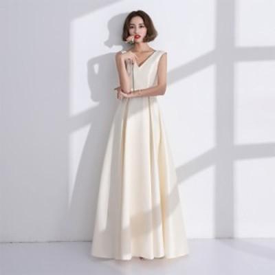 結婚式 ドレス パーティー ロングドレス 二次会ドレス ウェディングドレス お呼ばれドレス 卒業パーティー 成人式 同窓会hs184
