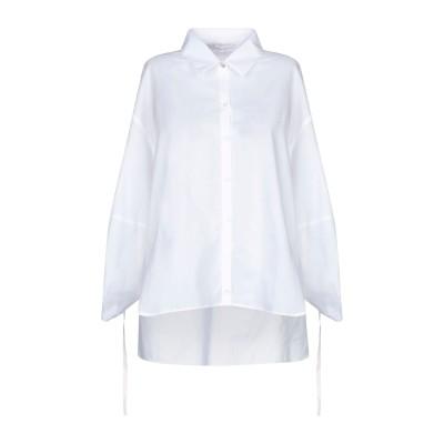 パトリツィア ペペ PATRIZIA PEPE シャツ ホワイト 38 コットン 100% シャツ