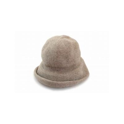 TIME CROSS ハット 96-5332 ベージュ レディース 婦人 帽子 ウール 防寒対策 暖かい エレガント 無料ラッピング 日本製 ネット通販 秋冬