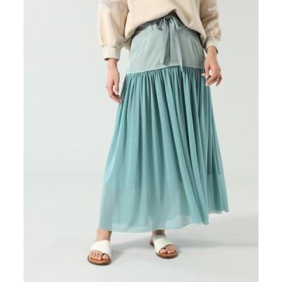スカート (OKIRAKU×ROSE BUD)チュールスカート