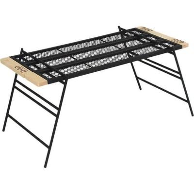DOD テキーラテーブル ブラック TB4-535 | 天板サイズ約91*42cm | ドッペルギャンガー