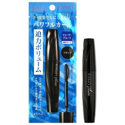 ファシオ パワフルカール マスカラ EX (ボリューム) BK001 ブラック 7g