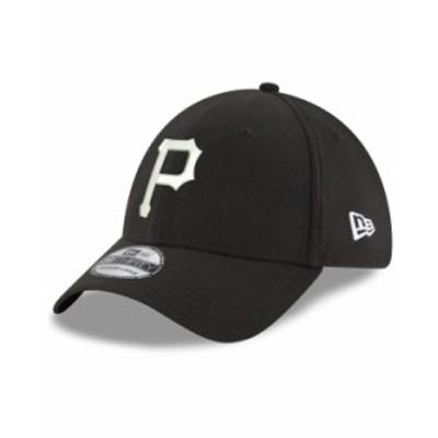 ニューエラ メンズ 帽子 アクセサリー Pittsburgh Pirates Dub Classic 39THIRTY Cap Black