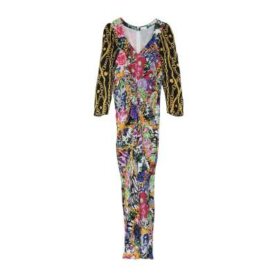 RIXO ロングワンピース&ドレス フューシャ S レーヨン 70% / シルク 30% ロングワンピース&ドレス