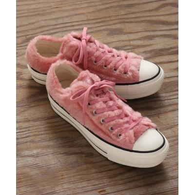 atmos pink / CONVERSE コンバース オールスター PLTS ボア オックス / ALL STAR PLTS BOA OX (PINK) 31300641 WOMEN シューズ > スニーカー