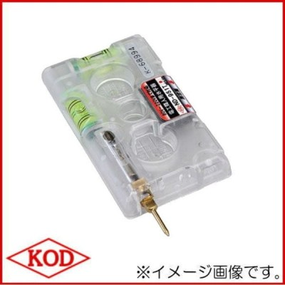 ND-951T 電工職人用水平器 検電テスター付 アカツキ製作所 KOD