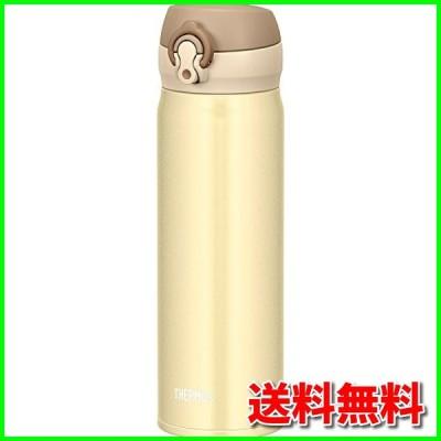 サーモス 水筒 真空断熱ケータイマグ 【ワンタッチオープンタイプ】 500ml クリーミーゴールド JNL-503 CRG
