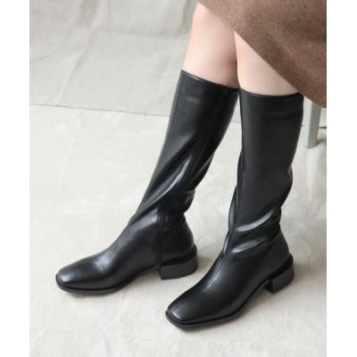 EVOL / 【EVOL】センターシームスクエアロングブーツ IP9411 WOMEN シューズ > ブーツ