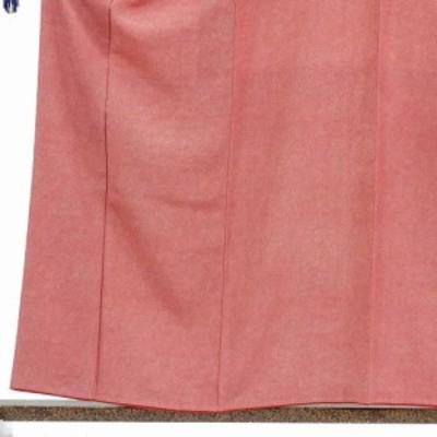 【中古】リサイクル着物 小紋 / 正絹赤地袷江戸小紋着物 / レディース【裄Mサイズ】(古着 リサイクル品 小紋 )