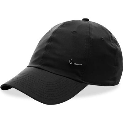 ナイキ Nike メンズ キャップ 帽子 metal swoosh cap Black