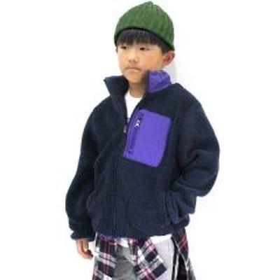 ADORU KIDS(アドルキッズ)ボア フリースジャケット 【お取り寄せ商品】