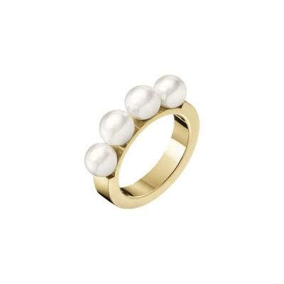 指輪 [カルバンクライン] CALVIN KLEIN リング・指輪 Circling(サークリング) ゴールド×パール