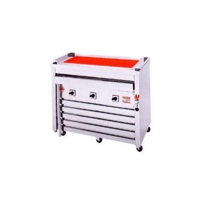 焼き台 業務用 ヒゴグリラー 電気グリラー 万能タイプ床置型 3P-218 メーカー直送/代引不可【】