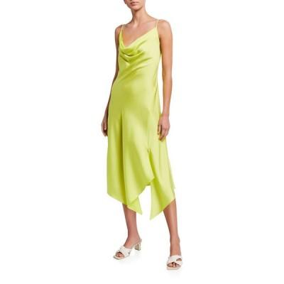 ジョナサンシムカイ レディース ワンピース トップス Nellie Cowl-Neck Satin Slip Dress