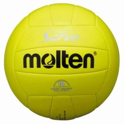 モルテン EV4L バレーボール 軽量4号球 (人工皮革)Molten ソフトサーブ (イエロー)[MTEV4L]【返品種別A】