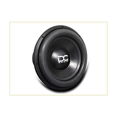 """DC AUDIO Level 6 15"""" 1 ohm Dual Voice Coil Subwoofer 4500/9000 Watt 並行輸入品"""