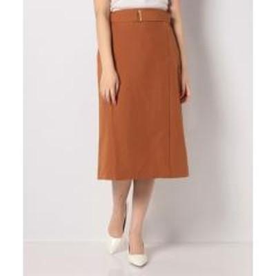 テチチ【Techichi】麻調カシメ使いタイトスカート