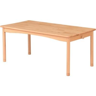 弘益 FAM-T110(NA) ファミリアキッズテーブル ナチュラル ローテーブル