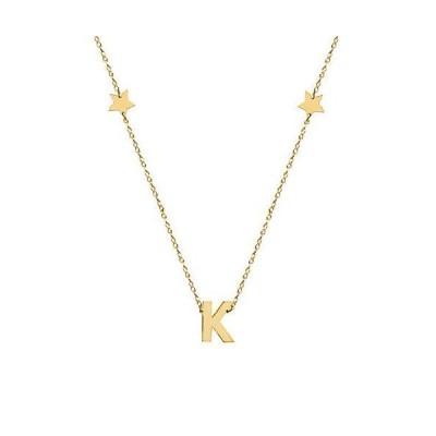 レディース アクセサリー  Jane Basch 22K Over Silver Initial Necklace