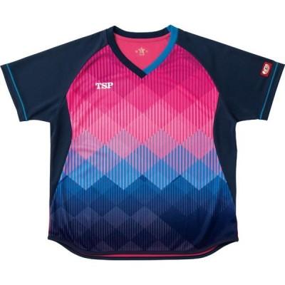 TSP レディスリエートシャツ YTT-032418 (0300)ピンク